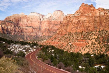 alter: Here we see the Sundial and Alter of Sacrifice in Zion National Park