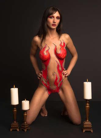Porn body paint nude gorgeous romance nude moms