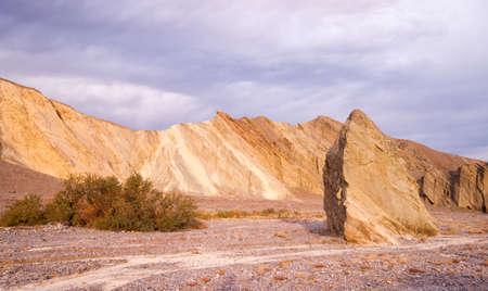 A granite rockface in Death Valley photo