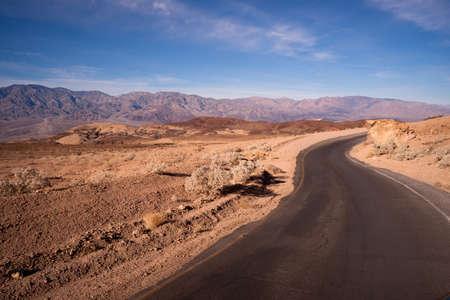 death valley: Artist Drive Death Valley California