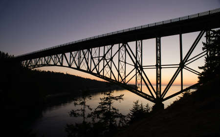 deception: The bridge over Deception Pass headed to Whidbey Island