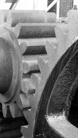 drawbridge: Original Gear Mechanism For Raising Lowering Murray Morgan Drawbridge