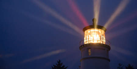 weary: A perfect storm is just the right weather to make a lighthouse earn its keep for weary travelers