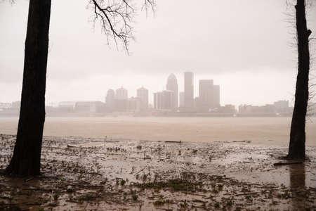 rainfall: Record rainfall creates flooding in Kentucky April 2015