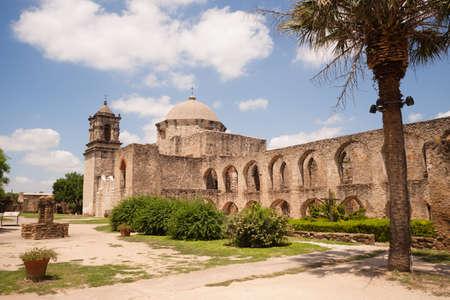 jose: Historic Old Architecture Mission San Jose San Antonio Texas