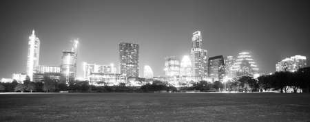 come in: Night falls as the stars come out in Austin Texas