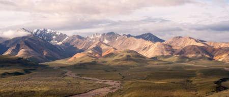 denali: Valley and Mountains of the Alaska Denali Range