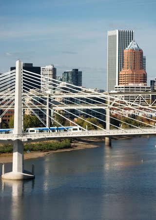 eastbank: The newest bridge across Portlands famous riverfront