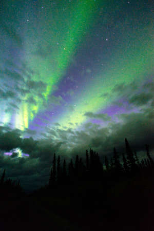 northern light: The Northern Lights appear in Wrangell St. Elias National Park