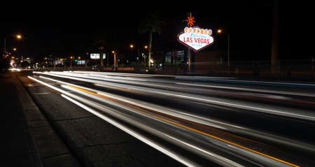 las vegas sign: Welcome to Las Vegas Sign Boulevard Strip Roadside Attraction