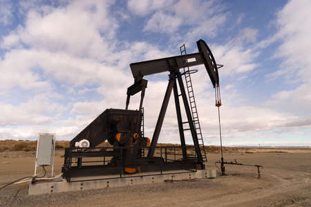 oilwell: A device used for oil exploration in Wyoming