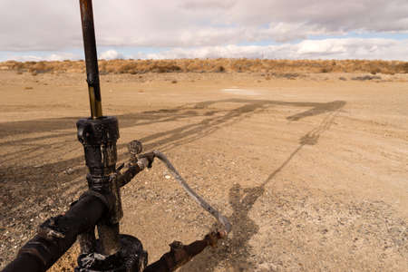 jack tar: This is where all the work takes place while the oil is being pumped out of the ground