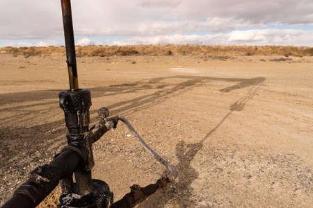 Questo è dove tutto il lavoro si svolge mentre l'olio viene pompata dal terreno