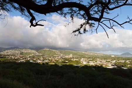 honolulu: Honolulu City Skyline Metropolis Hawaii United States Stock Photo