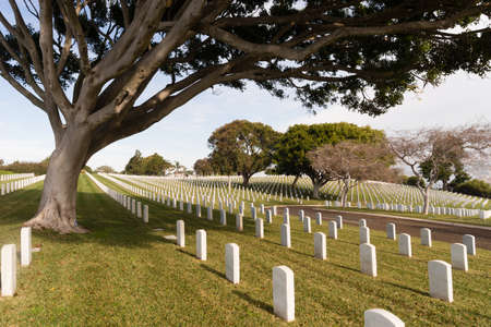 military cemetery: Fort Rosecrans National Cemetery is a federal military cemetery in the city of San Diego, California.