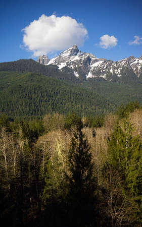 cascade range: White Chuck Mountain North Cascade Range Baker Snoqualmie National Forest