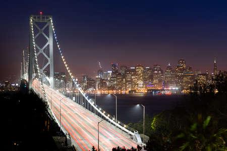bay bridge: Bay Bridge Rush Hour Traffic San Francisco Transportation