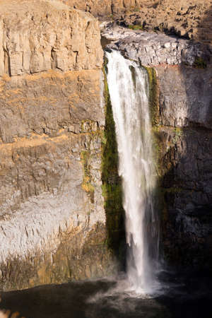 northwest: The Palouse River falls over cliffs creating a waterfall by the same name
