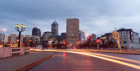 indianapolis: Indianapolis Indiana Capital City Marion County Downtown Skyline