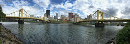 The Allegheny River goes by the amazing city of Pittsburgh