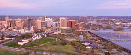 The State Capital city boasts a vibrant waterfront area in Richmond Virginia