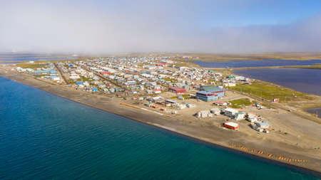 The Fog is lifting in Barrow Alaska now called Utqiagvik AK