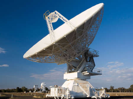 Compact Array Telescope used for scientific research Stock Photo