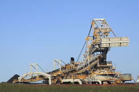 machinery space: Coal Loading Machinery and Conveyor Belt