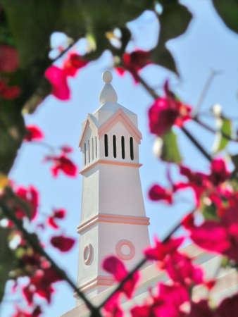 tall chimney: Typical portuguese chimney from Algarve region.