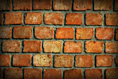 reb: Antecedentes patern de una vieja pared de ladrillo reb  Foto de archivo