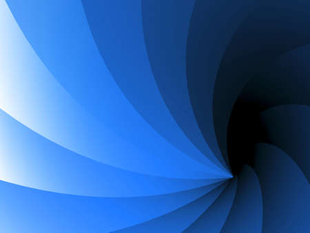nuances: Wavy, faceted 3D background with dark and light blue nuances Stock Photo