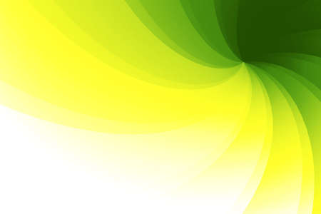 nuances: Wavy, faceted 3D background with green, yellow and white nuances