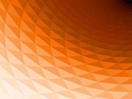 nuances: Wavy, faceted 3D background with black and orange nuances