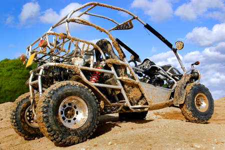 4wd buggy for extreme off-road fun Stock Photo - 3146943