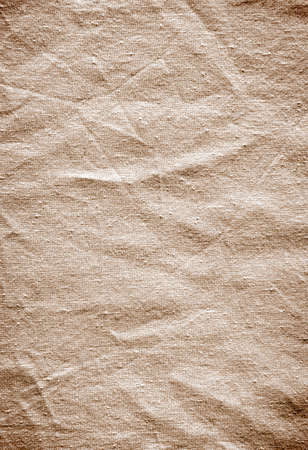 creases: Background of old wrinkled fabric surface