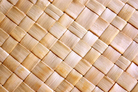 Background of rustic interlaced straw of a handmade craft Stock Photo - 3409955