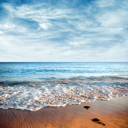 Beautiful seashore with calm cristal clear water Stock Photo - 4643105