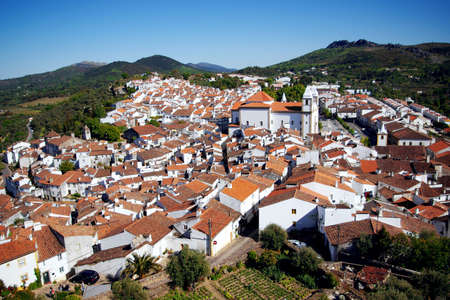 Ancient village of Castelo de Vide, Portugal, seen from the castle tower Stock Photo - 5115421