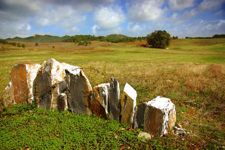 Natural countryside landscape in Sintra, Portugal on an Autumn day Stock Photo - 8142528