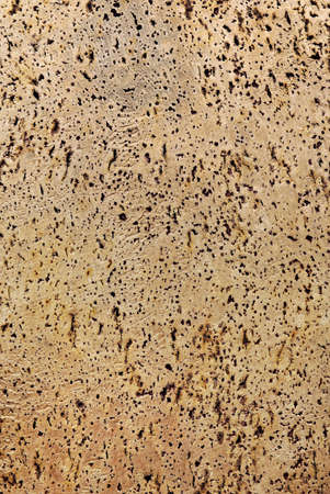 full background of textured raw cork photo