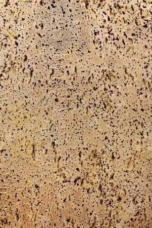 full background of textured raw cork Stock Photo - 8348452