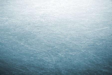 schaatsen: achtergrond afbeelding van een detail van bekraste ice skating rink