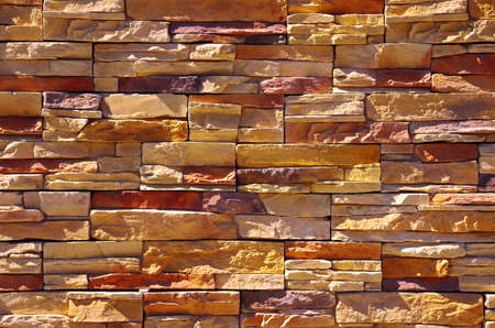 Shale: Shale stone wall under sunlight Stock Photo