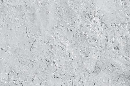 Hintergrund der holprigen Stuck wite Kalk Wand Standard-Bild