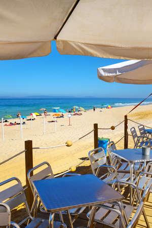 Bar Terraza Sobre El Mar Mediterráneo Fotos Retratos
