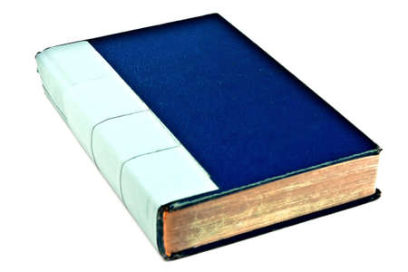 Blank Blue Book Isolated on White