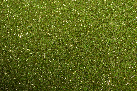 green glitter background textile