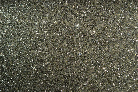 on gray: silver gray glitter background textile