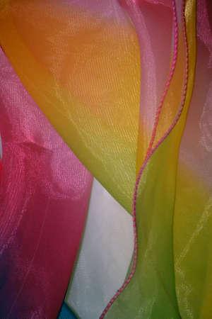 Cinta del arco iris aislado en fondo blanco Foto de archivo