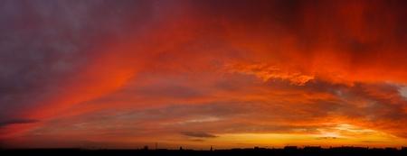 Dramatics sunset Stock Photo - 8591586